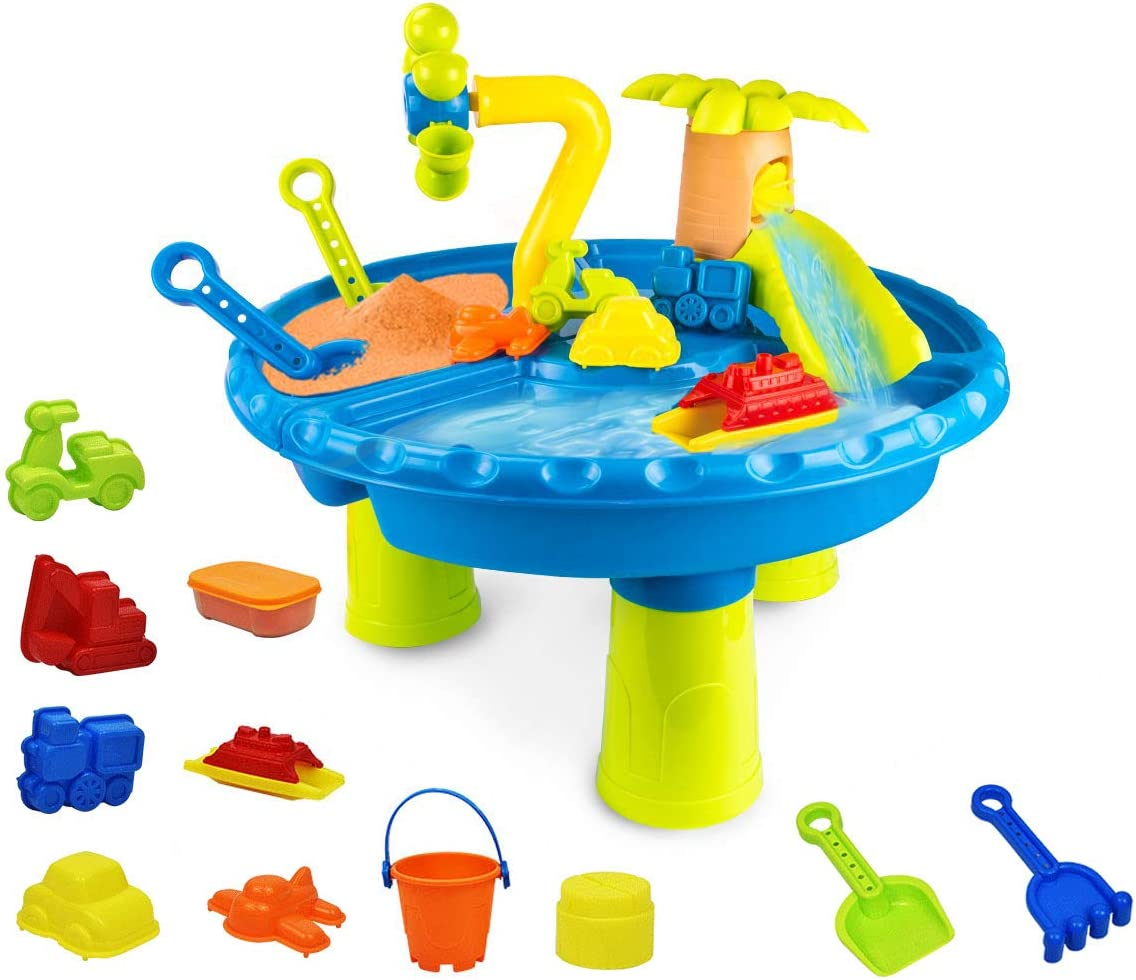 Water Table for Brand new Toddlers Kids Outdoor Product Play Indoor 17 Sand
