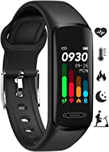 Fitness Tracker HR, Activity Tracker with Body Temperature Heart Rate Sleep Health Monitor, IP68 Waterproof Activity Track...