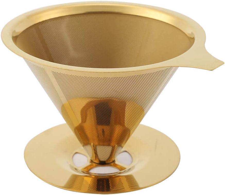 Uxsiya Sturdy Beautiful Coffee Dripper SALENEW very popular! with Import Stand Cup Dr
