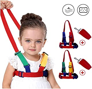 Baby Safety Walking Harness-Child Toddler Anti-Lost Belt Harness Reins with Leash Kids Assistant Strap Angel Wings Travel ...