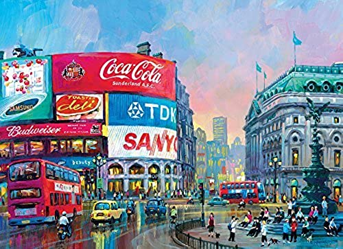 London - Piccadilly Circus 1000pc by Clementoni