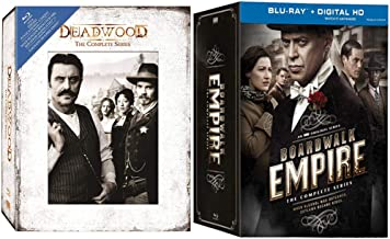 The Period Drama Collection: Deadwood & Boardwalk Empire Complete Series Blu-ray Box Sets