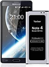 Verizon N910V T-Mobile N910T Sprint N910P N910U LTE N910F AT/&T N910A Note4 Battery Note 4 Battery Acevan 4320mAh Replacement Battery for Samsung Galaxy Note 4 N910