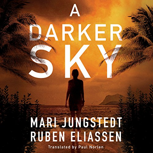 A Darker Sky audiobook cover art
