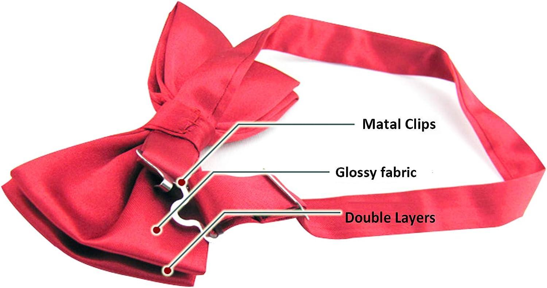 Alizeal Mens Adjustable Pre-tied Bow Tie