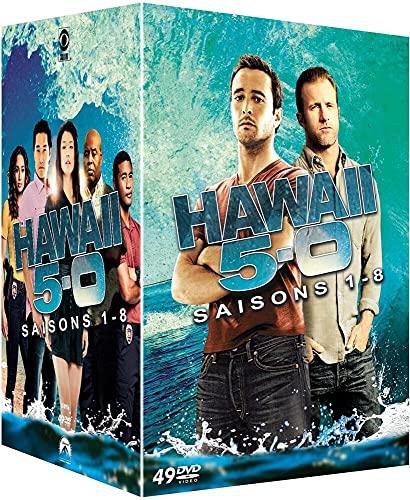 Coffret hawaii 5-0, saisons 1 à 8