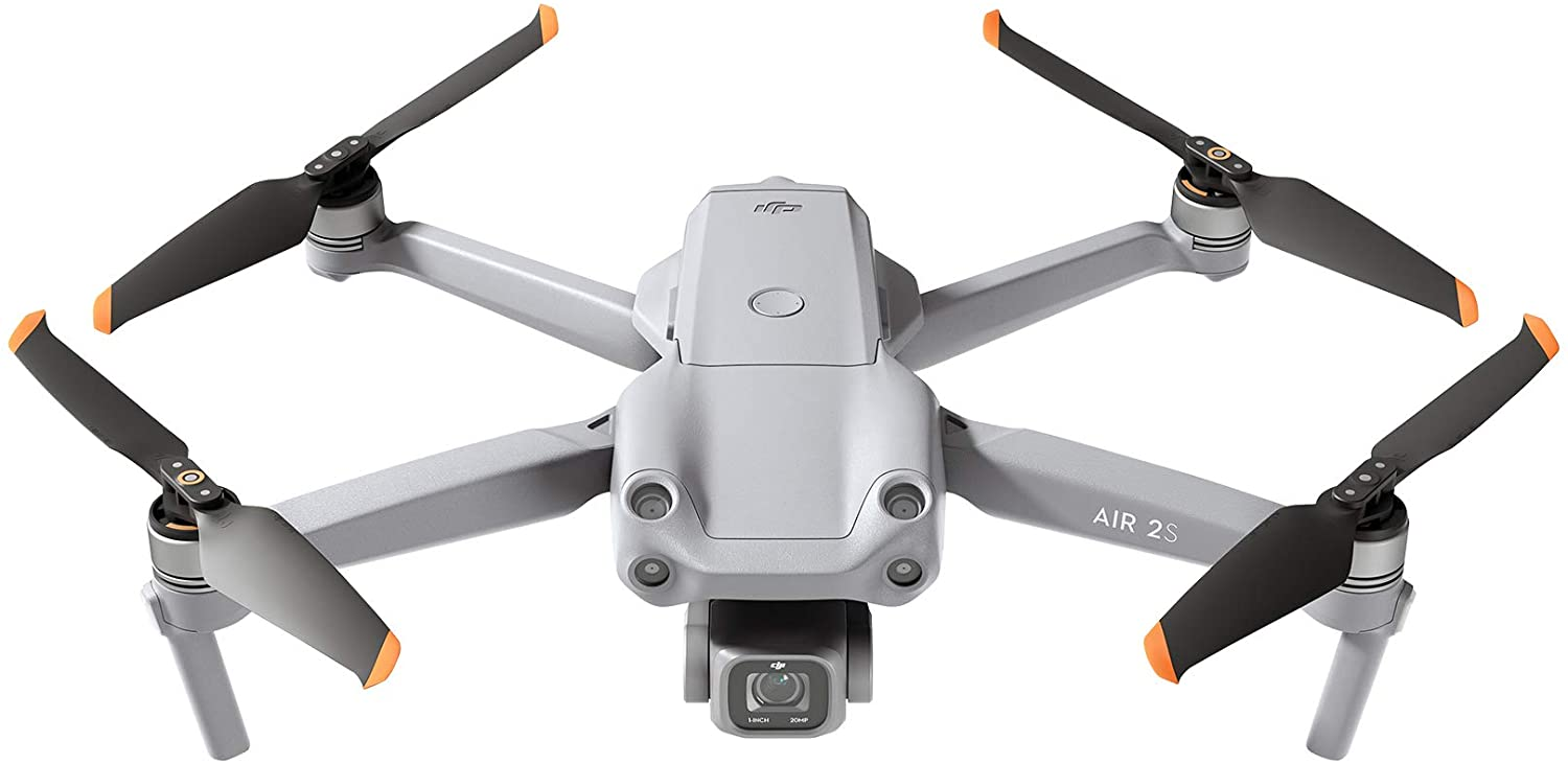 DJI Air 2S Drone - Full View of The Drone