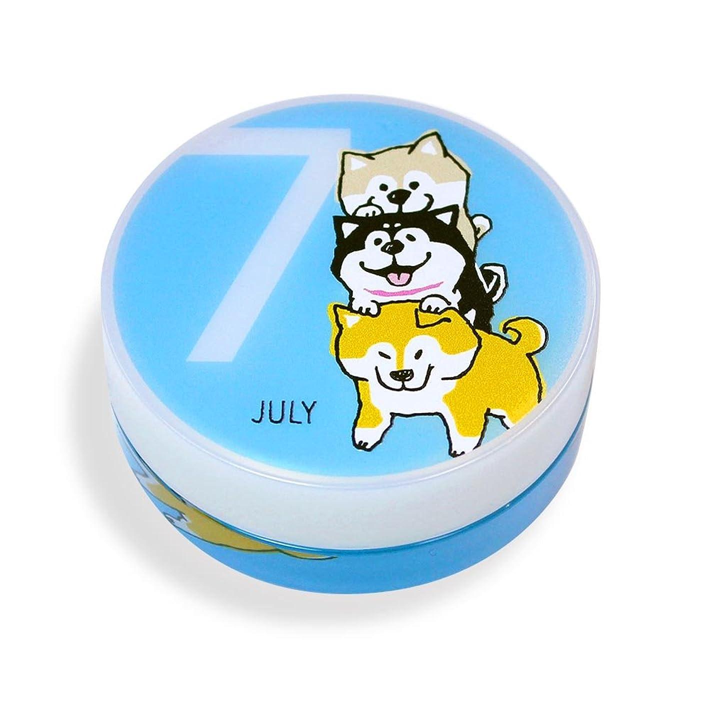 嵐の質素なローブしばんばん フルプルクリーム 誕生月シリーズ 7月 20g