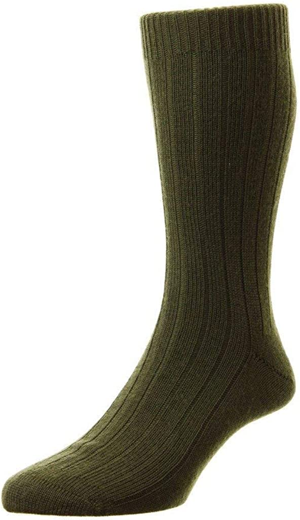 Pantherella Packington Merino Wool Mid Calf Mens Socks