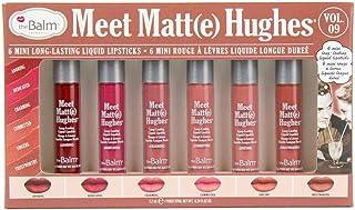 Meet Matte Hughes Set of 6 Mini Long-Lasting Liquid Lipsticks VOL. 09