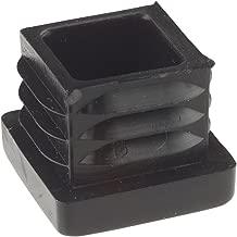 Kappen Rohrabdeckung aus hochwertigem Polyethylen Kunststoff Rohrstopfen Quadratisch Gleiter Endstopfen Enkotrade 10 St/ück Lamellenstopfen f/ür Vierkantrohre Stopfen 28x28 mm