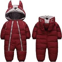 Fairy Baby Infant Boy Girl Winter Thick Romper Outwear Warm Hood Snowsuit Jumpsuit