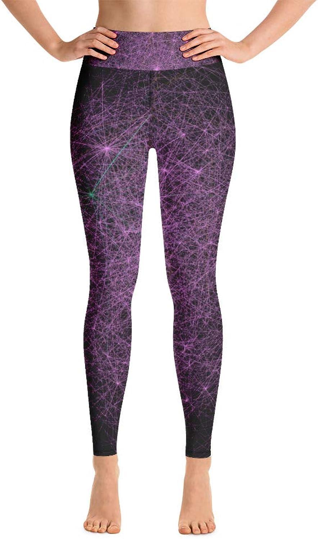 GeoPattern Taraxacai Biochemistry Yoga Leggings