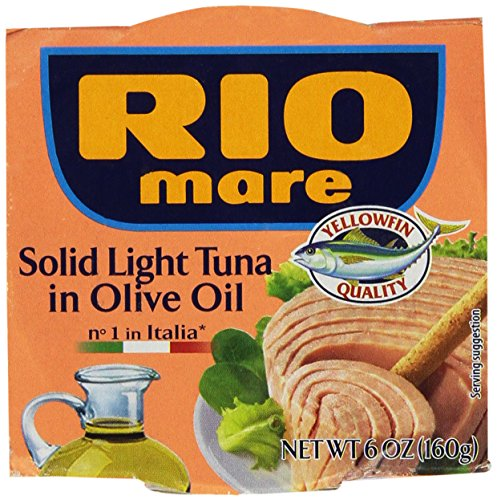 Rio Mare Tuna Fish Imported From Italy. Italy's Number 1 Tuna - The Best Imported Italian Tuna - Pack of 3