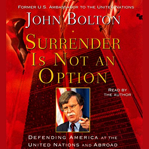 Surrender Is Not an Option audiobook cover art