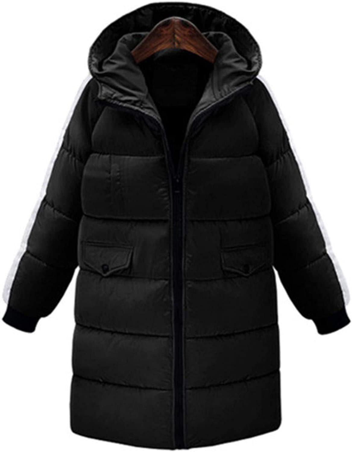 CHANGYUGE Winter Long Jacket Women Hooded Parkas Padded Coats