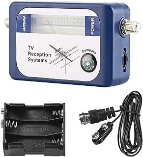 DVB-T Digital Satellite Signal Finder Meter Aerial Terrestrial TV Antenna Satellite Signal Strength Meter with Compass TV Reception Systems