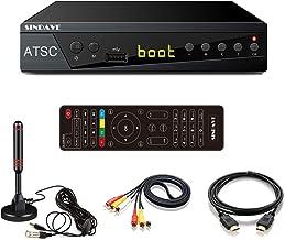 Digital Converter Box, Sindave HDTV Tunner Digital Converter for Analog TV, HD 1080P TV with Recorder, ATSC HDTV Digital C...