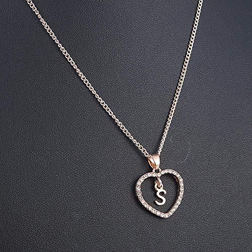 grabado gratis 10202 Corazón de plata colgante te quiero