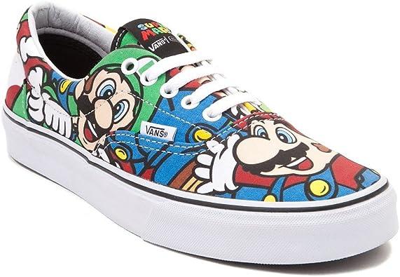 Amazon.com: Especial Edition Nintendo Vans Era Mario & Friends ...
