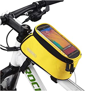 Bicycle Bag,Saddle Bag,Waterproof,Touch Screen Pack,Mobile Phone GPS Bag,A5