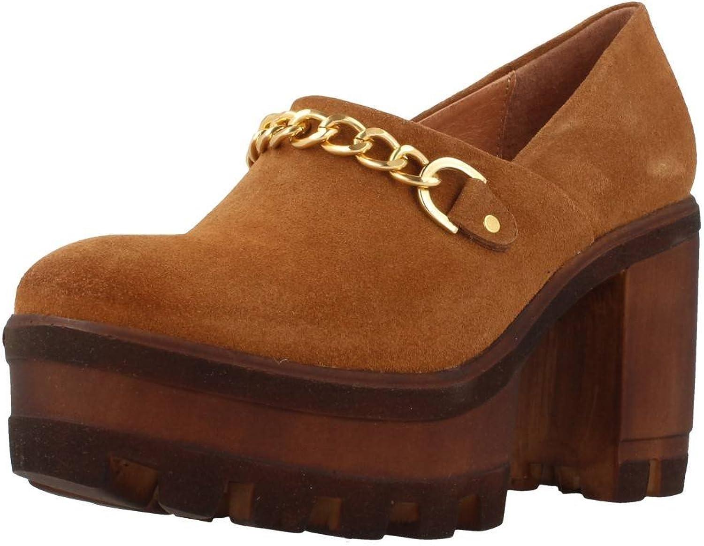 Heeled shoes, Colour Brown, Brand Hangar, Model Heeled shoes Hangar 3655 Brown