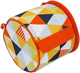 Olve Roll-tissue Case Toilet Roll Paper Storage Case Waterproof Paper Towel Holder (Orange)