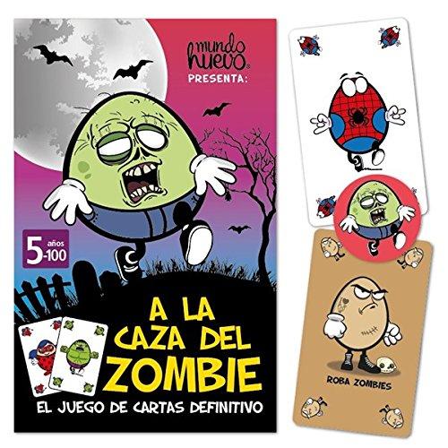 mundohuevo Juego de Cartas A la Caza del Zombie