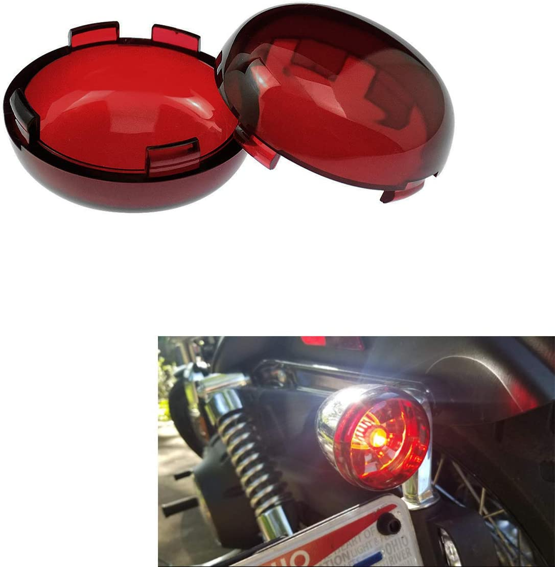YHMTIVTU Bullet Turn Sales of SALE items from new works Signal Light Cheap mail order specialty store Lens Spor Fit Harley for Cover