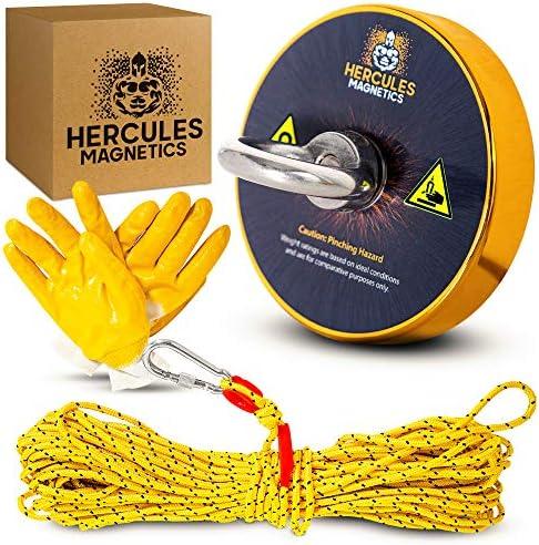 Hercules Magnetics Magnet Fishing Kit 900Lbs Fishing Magnet with 30M Rope Fishing Kit Ultra product image