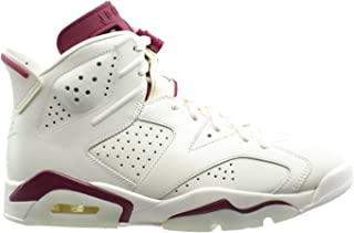 Air 6 Retro Men's Basketball Shoes Off White/New Maroon 384664-116