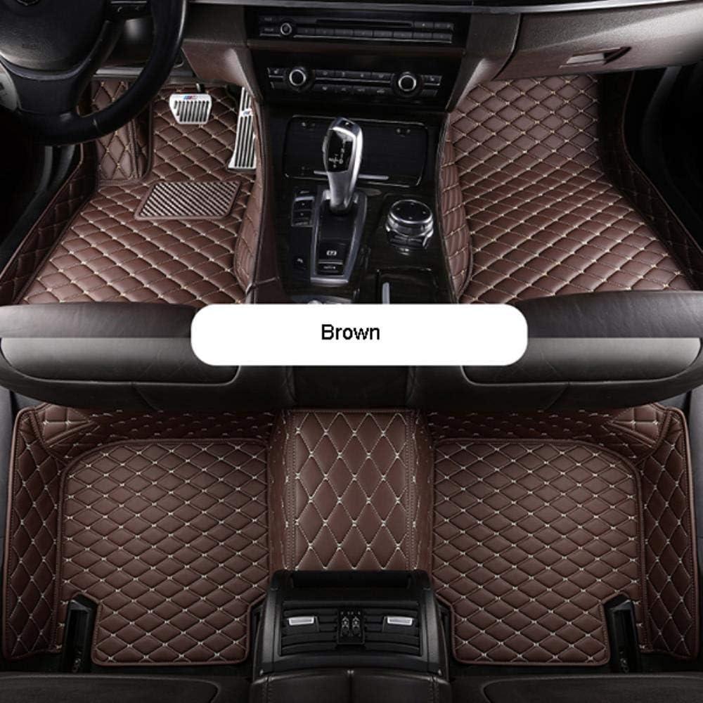 Auto Fußmatten Für Hyundai Tucson 2019 2020 Pu Lederauto Wasserdichte Rutschfeste Matte Automatten Autoteppich Autozubehör Schwarz Rot Auto