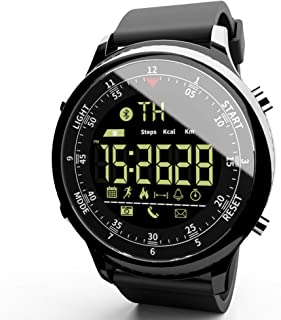 MOKA Sports Digital Smart Watch - Women Men Waterproof Bluetooth Smart Wrist Watch, Smartwatch with Walking Calories,Remote Camera, Call/SNS/SMS Reminder for iOS and Android
