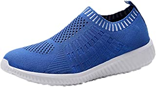 OrchidAmor Women Solid Simple Athletic Walking Shoes Casual Mesh-Comfortable Work Sneakers 2019 Summer Swag Shoes