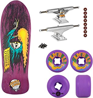Santa Cruz Skateboards Obrien Reaper Purple Old School Independent Build