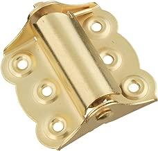 National Hardware N190-744 V122 Spring Hinges in Brass, 2 pack
