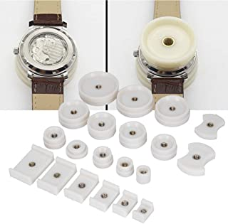 20Pcs Watchmaker Watch Back Cover Press Dies, for Battery Replacement Watch Repair Capping Machine Accessories Press Dies(...