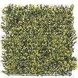 Seto Artificial Decorativo Amarillo de plástico para terraza Garden - LOLAhome