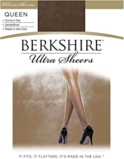 Berkshire Women's Plus-Size Queen Ultra Sheer Control Top Pantyhose 4411