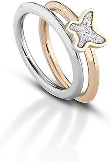 anello donna gioielli Ops Objects Glitter misura 16 casual cod. OPSAN-340L