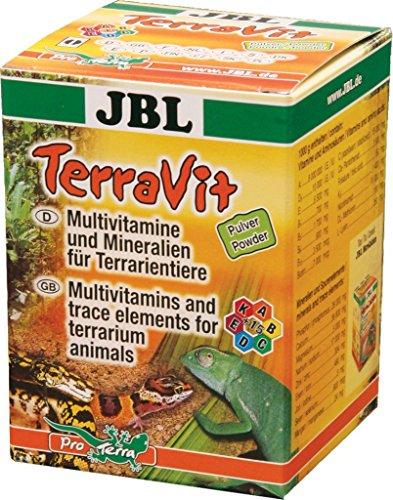 JBL TerraVit Pulver - Multivitamine und Mineralien, 100g
