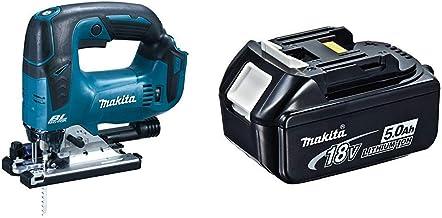 Makita DJV182Z - Caladora 18V Litio BL + Makita 4434175 - Acumulador 18 v 5ah