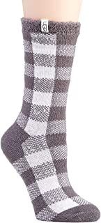 Women's W Vanna Check Fleece Lined Sock