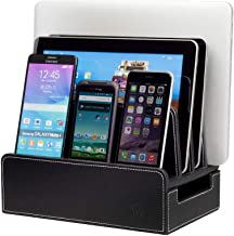 leather charging station
