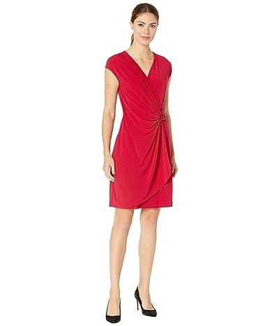 Tommy Bahama Carmela Short Sleeve Faux Wrap Dress Women