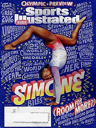Sports Illustrated KIDS Magazine (July August, 2021) SIMONE BILES Cover