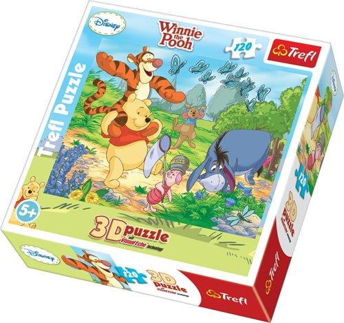 Trefl - 35648 - Puzzle 3D - Winnie The Pooh - 120 Pièces