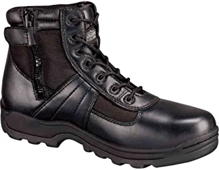 THOROGOOD SHOES 804-6190 15W Work Boots, Comp, Mn, 15W, Blk, PR