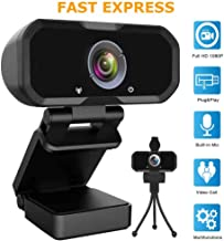 Webcam 1080p HD Computer Camera – Microphone Laptop USB PC Webcam, HD Full Gaming..
