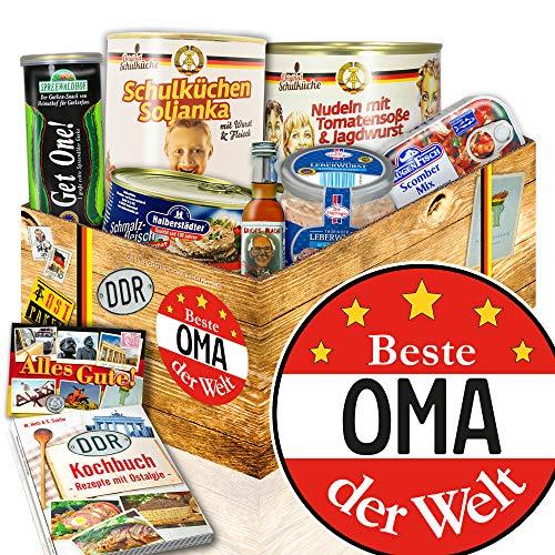Beste Oma - Geburtstags Geschenke - DDR Produkte